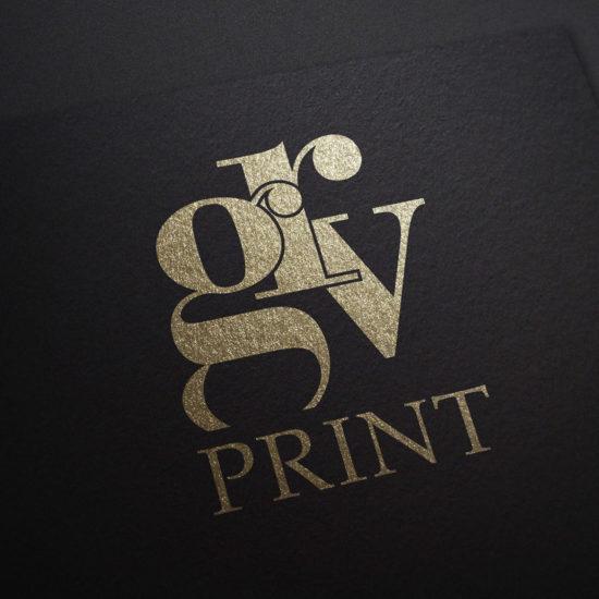 GRV Gold Foil logo
